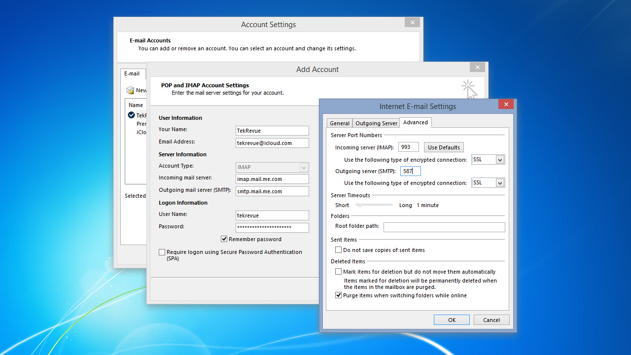 Image result for can't connect smtp outlook 2013