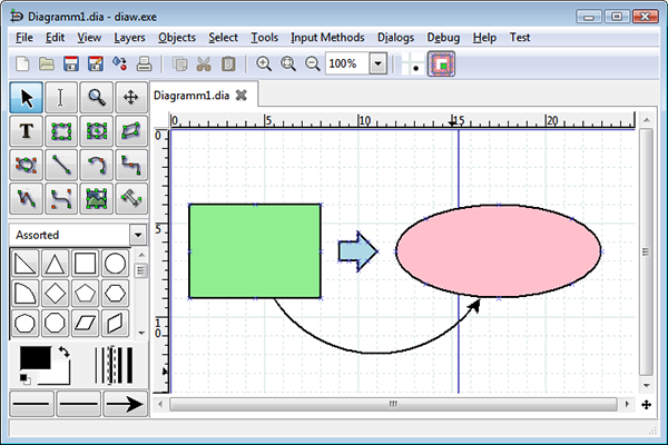 The 10 best free alternatives to microsoft visio dias fairly easy to navigate and its focus on diagramming and diagramming alone make it a powerful tool in your productivity arsenal ccuart Images