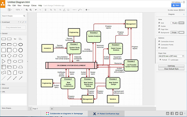free alternative to visio for network diagram
