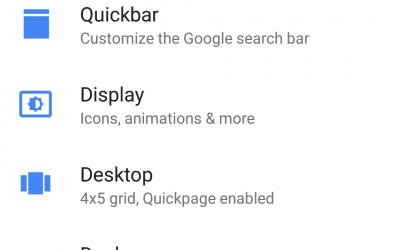 Action Launcher Screenshot