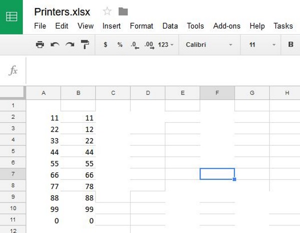 How to compare two columns in Google Sheets2