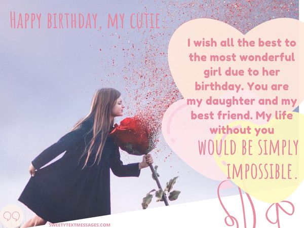 Surprising Birthday Wishes For Daughter From Mother Personalised Birthday Cards Bromeletsinfo