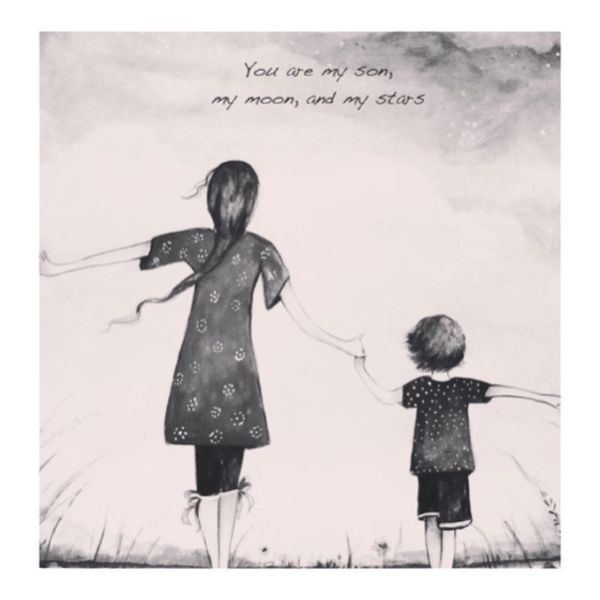 Loving Mother And Son Quotes With The Deep Meaning