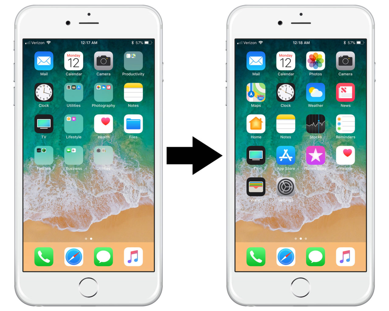 Clean Up Your Iphone Apps How To Reset The Home Screen Layout