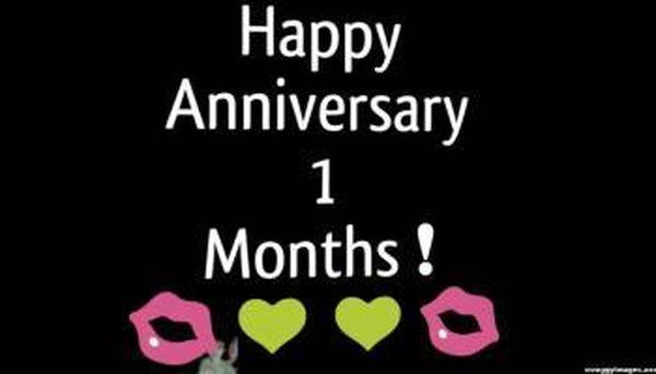 1 Month Anniversary Paragraph for Boyfriend and Girlfriend