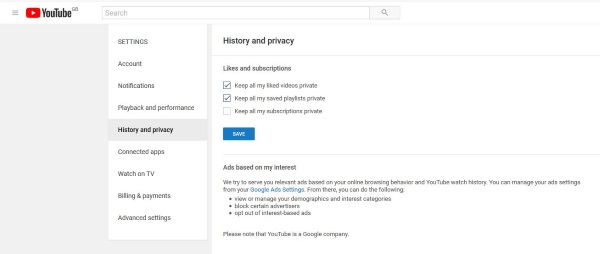 How To Hide Liked Videos And Subscriptions On Youtube