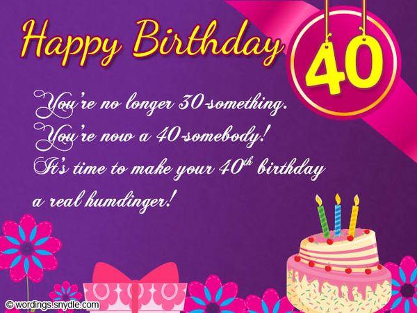 Fine Happy 40Th Birthday Funny Birthday Cards Online Elaedamsfinfo