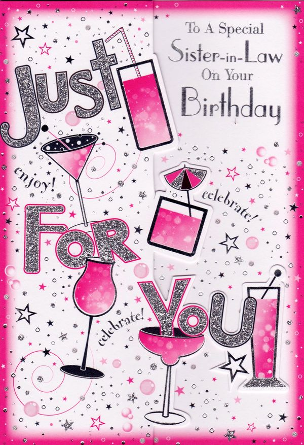 Sensational Happy Birthday Sister In Law Quotes To Text Message Personalised Birthday Cards Paralily Jamesorg