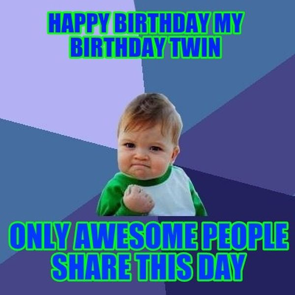 Outstanding Happy Birthday Twins Quotes Images And Memes Personalised Birthday Cards Bromeletsinfo