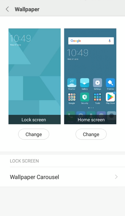 Xiaomi Redmi Note 4 How To Change Lock Screen
