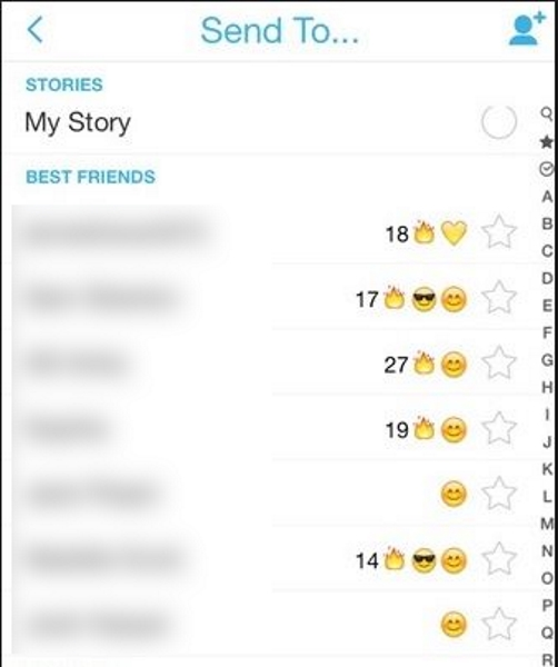 How Often Does the Best Friends Data Update in Snapchat?