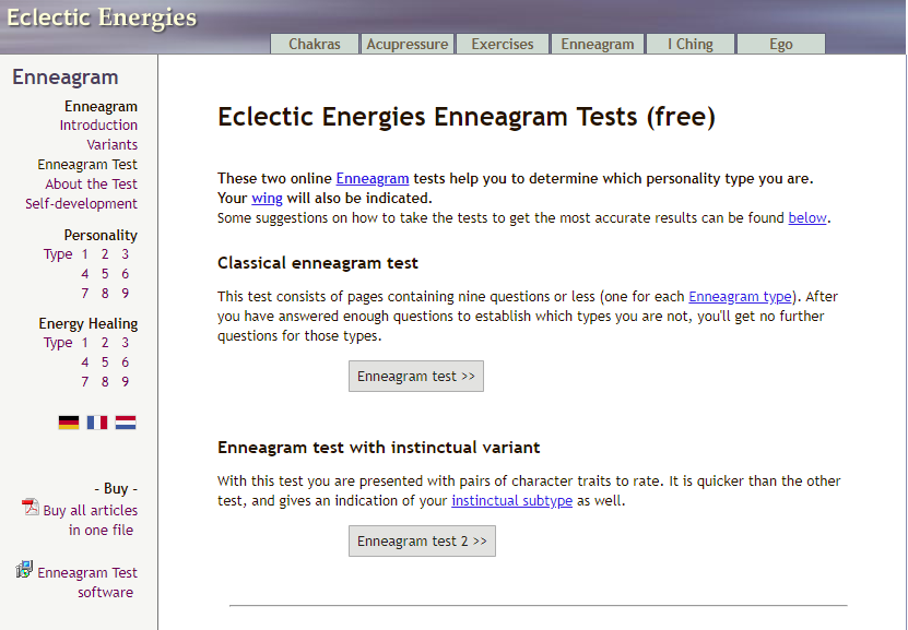 eclectic energies test song