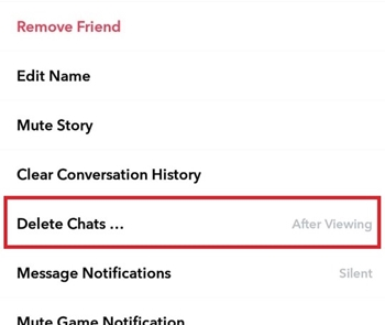How To Change How Long or When Messages Expire – Snapchat