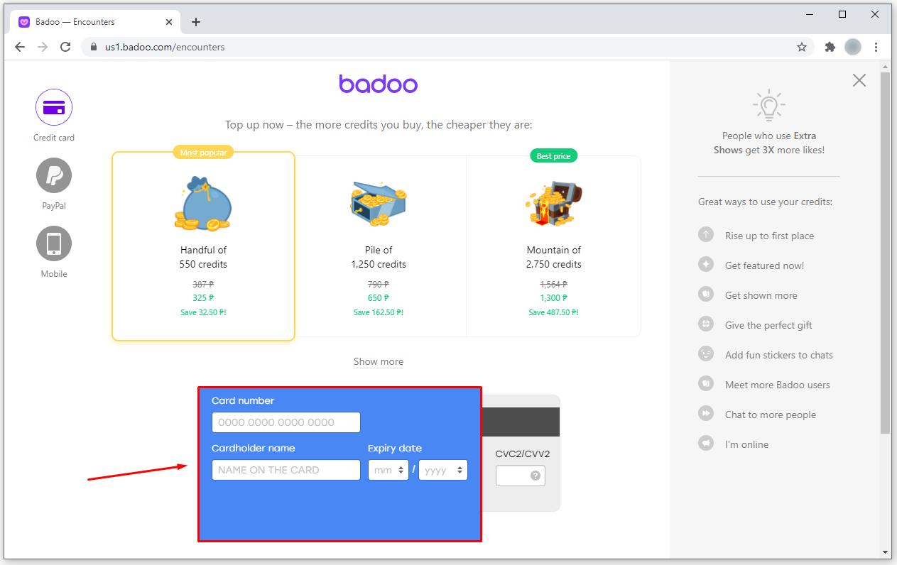 Badoo hack generator