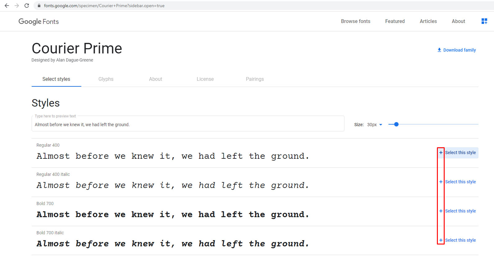 How to download new fonts to google docs chrome